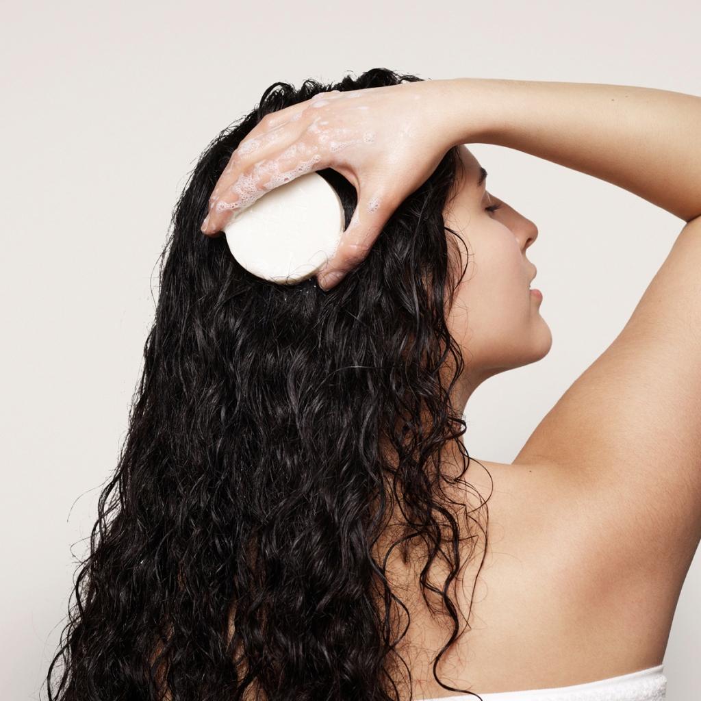Sådan bruger du en shampoobar 2